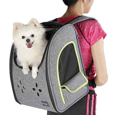 Expandable Comfortable Dog Portable Backpack Pet Bag Carrier