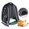 Outing Travel Transparent Kit Chest Shoulder Pet Capsule Bag Backpack Carrier