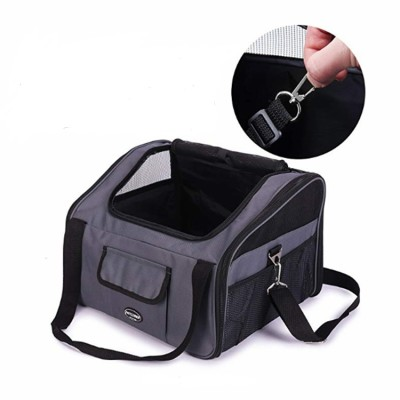 Airline Approved Dog Cat Travel Cage Shoulder Bag Pet Car Front Seat Carrier