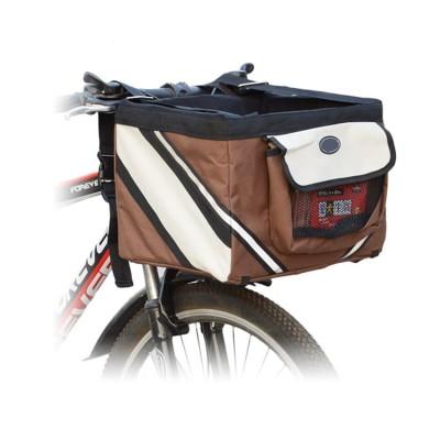 Bicycle Travel Mesh Side Pocket Waterproof Washable Cat Dog Pet Handbag Carrier