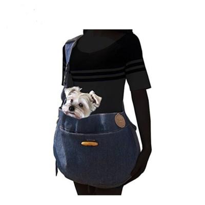 Soft Breathable Portable Small Animal Dog Cat Pet Sling Shoulder Bag Carrier