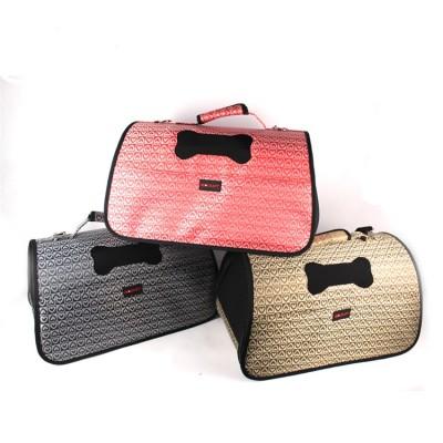 Factory Direct Soft Sided Breathable Travel Out Cat Dog Pet Handbag Bag Carrier