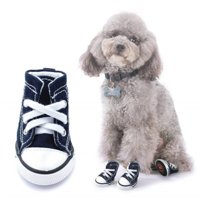 Scheppend Anti-Slip Dog Boots for Small Dogs Sport Shoes Fashion Pet Sneakers