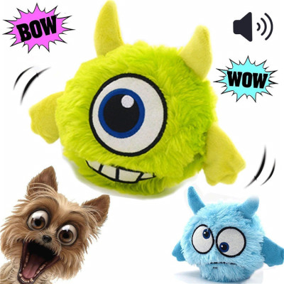 Electronic Automatic Shake Interactive Plush Dog Sheep Toy for Dogs and Puppies