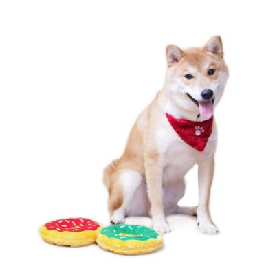 ZYZ PET Plush Ring Frisbee Interactive Pet Dog Interactive Toy