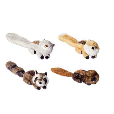 ZYZ PET Little Squirrel Plush Interactive Pet Dog Interactive Toy