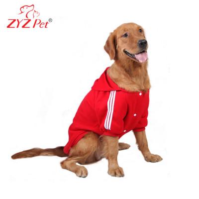 ZYZpet XS-XXXL Big Dog Clothes Dog Hoodie Coats Matching Dog And Human Pet Clothes