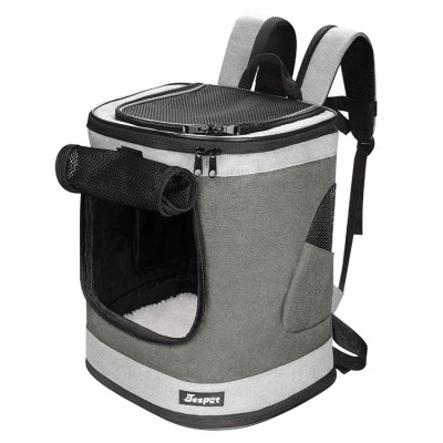 ZYZpet Airline Approved Breathable Portable Pet Travel bag Carrier Dog Backpack