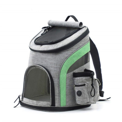 ZYZpet Airline Approved Small Lightweight Durable  Pet Hiking Travel Backpack with Safety Locks