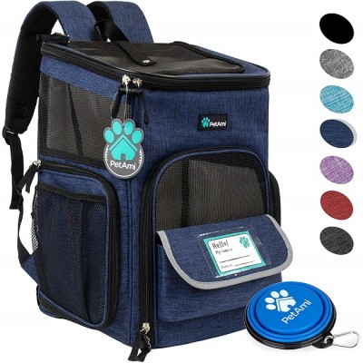 ZYZpet Wholesale Airline Approved Pet Travel Bag Dog Carrier Pet Backpack For Cats Hiking Outdoor