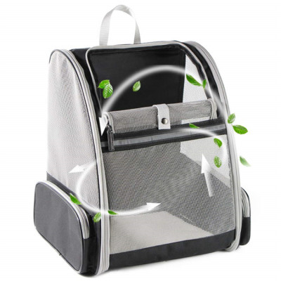 ZYZpet Softback Hiking Dog Travel Carrier Stocked Pet Back Packs Rpet Cat Backpack For Dogs Cats