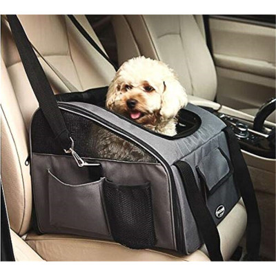 ZYZpet Airline Approved Dog Cat Puppy Travel Cage Pet Car Booster Seat Carrier