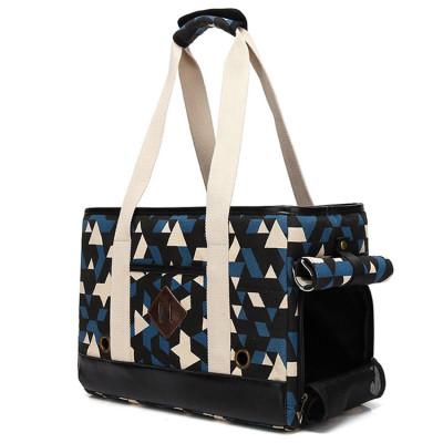 ZYZ PET Oxford Cloth Fashion Design Pet Travel Carrier Bag Dog Cat Handbag