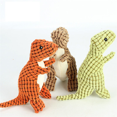 ZYZpet Hot Selling  Dinosaur Plush Dog Toy Squeaky Interactive Pet Toys