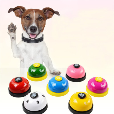 ZYZpet Pet Toys Bell New Type Apparatus Printed Click Bell Dog Toilet Dinner Ring Dog Training Bell