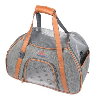 ZYZ PET Soft Sided Portable Print Carry Travel Bag Cat Dog Tote Pet Carrier  For Dog Tote
