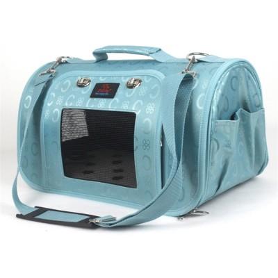 ZYZ PET Small Portable Folding Weekend Travel Overland Transportation Design Logo Organizer Bag Sausage Stylish Waxed Dog Tote