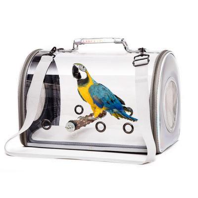 ZYZ PET Small Organizer Soft Weekend Travel Shopping Recycled Handbag Carrier Pet Bird Tote Bag