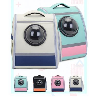 ZYZpet Large Folding Plastic Space Capsule Shaped Bubble Cat Pet Carrier Backpack
