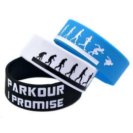Large-Logo-En-Silicone Logo-Debossed-Bracelet-pour-Sport-Promotion-Cadeau
