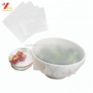 Heat Resistant Silicone food stretch wrap cling film