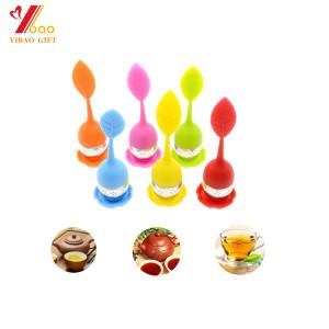 Infusor de té de silicona / Colador de té de silicona de grado alimenticio de silicona
