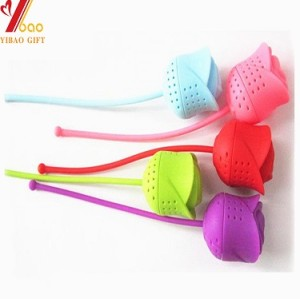 Rose?Silicone Tea Infuser for FDA food grade silicone