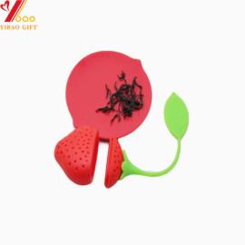 Infusor de té de silicona en forma personalizada para juego de té
