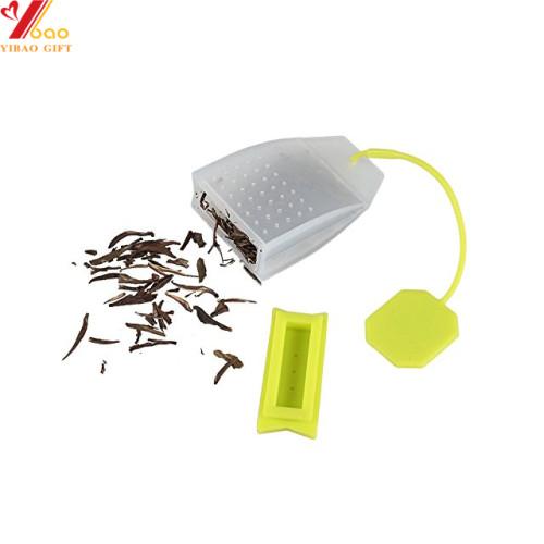 Silicone Reusable Tea Bag Candy Silicone Tea Infuser Strainer Set,custom color,Tea Party Supplies
