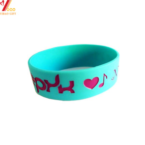 Portable Waterproof Custom Silicone Bracelet