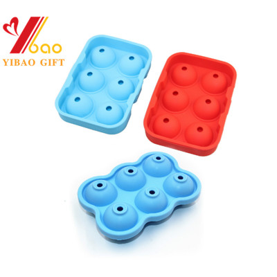 New Generation Ice Cube Tray, Ice Ball Maker, Sphere Silicone Ice Tray with Lid for Chilling Whiskey, Cocktails, Vodka
