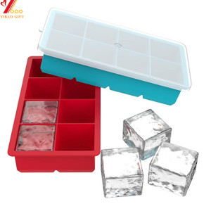 Bucket Custom Shape Cube Ice Cream Mold Cock Silicone Mould