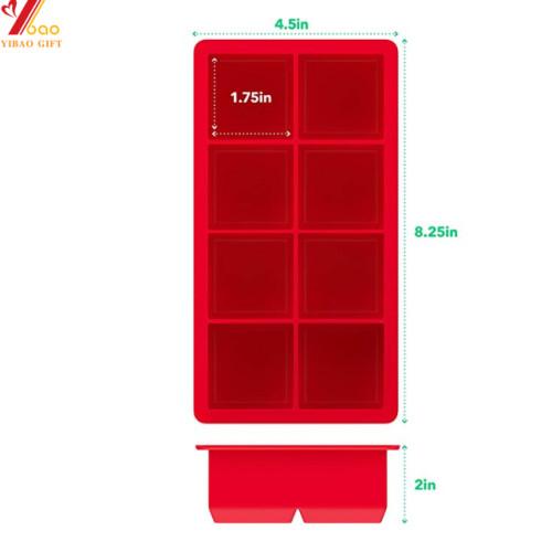 Cubo de forma personalizada cubo cubo helado molde de silicona gallo