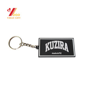 Custom Logo Design Embossed 3d Shop Promotional Wholesale Fish Shape Key Chain Sport Game Gifts Pvc Keychain
