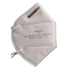 Mascarilla protectora anti-escupir A prueba de polvo Prevenir la seguridad de la saliva Máscara de filtro FFP2