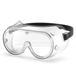 Lunettes de protection anti-buée contre les lunettes de protection contre les éclaboussures de liquide