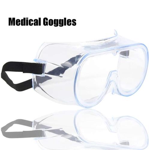 Gafas protectoras de seguridad antiniebla contra la protección contra salpicaduras de líquidos Gafas protectoras de seguridad