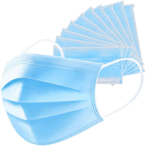 Isolation Dust 3-Ply Protective Disposable Face Mask with Earloop