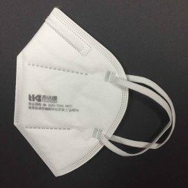 Prevenga los protectores faciales de seguridad de la saliva Máscara facial de respiración reutilizable plegable Ffp2 Máscara EN 149 ffp2