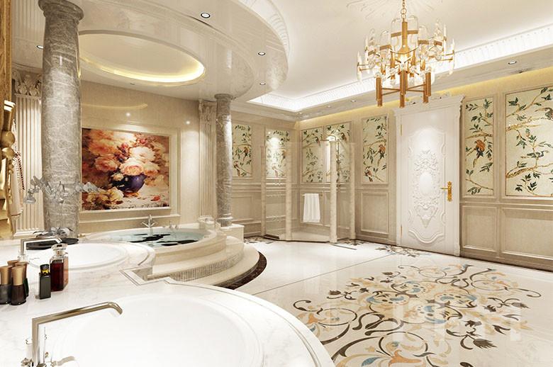 bathroom wall and floor design