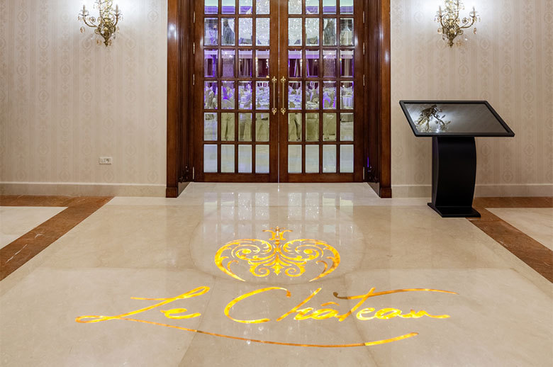 Le Chateau Palace floor design