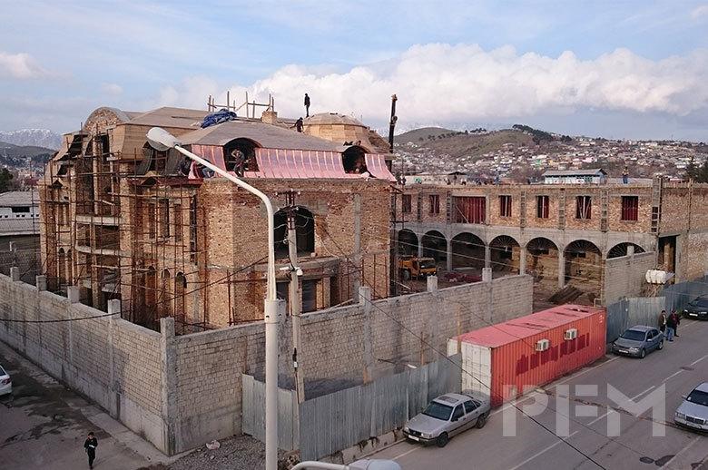 Tajikistan Private Villa under construction