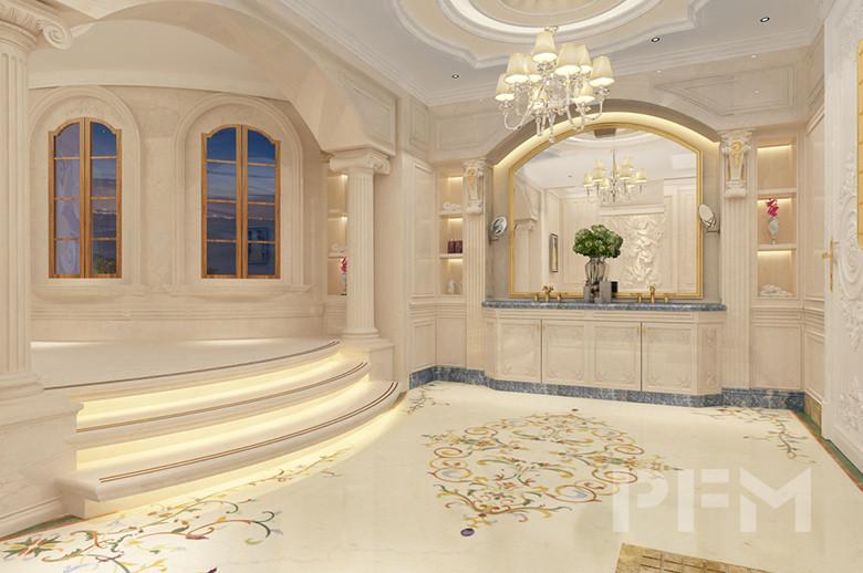 Tajikistan Private Villa bathroom design