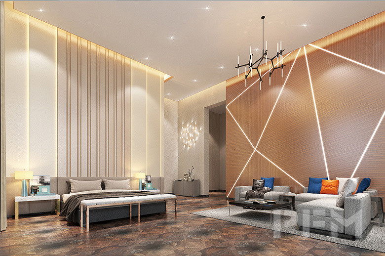 DOHA MODERN PALACE PROJECT interior wall decoration design