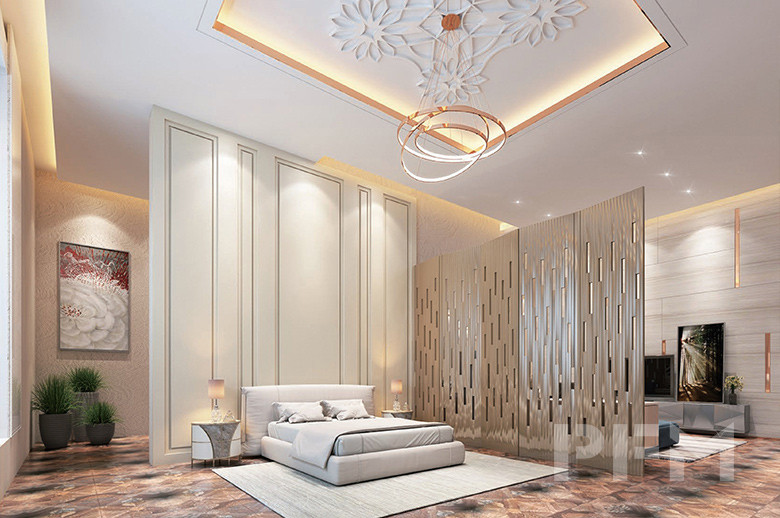 DOHA MODERN PALACE PROJECT interior decoration design