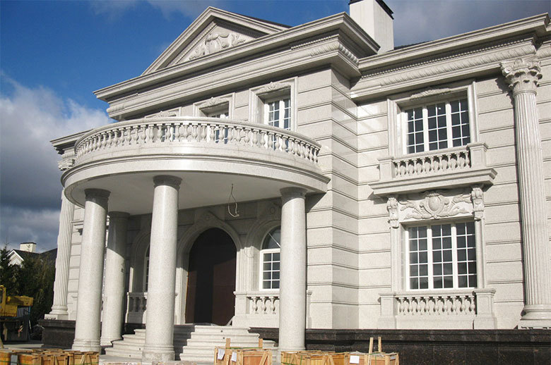 Private Villa GRANITE EXTERIOR WALL