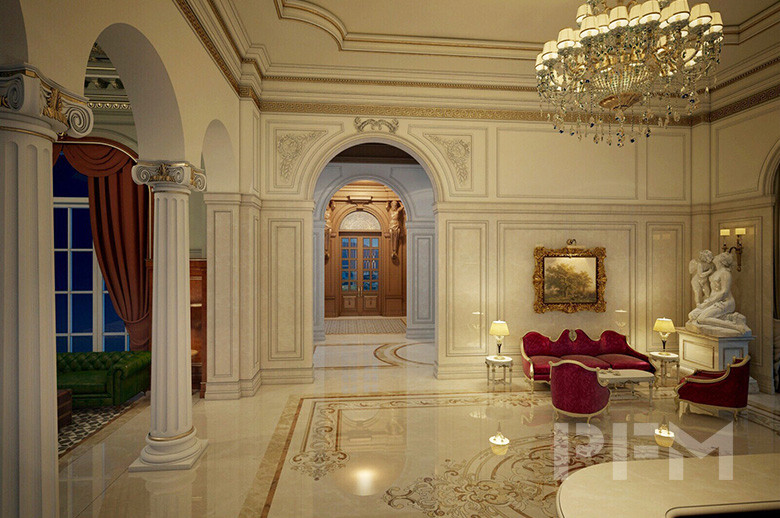 Tam Dao Castle interior design