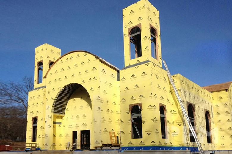 Coptic Orthodox Church under installation