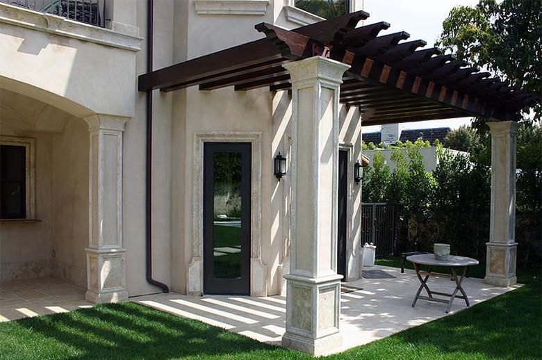 Outdoor Breakfast area design