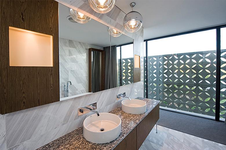 bathroom marble decoration